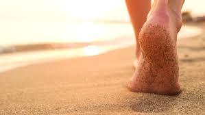 ontspanning door visualisatie, gezond houden van stressreactie, contact met voeten